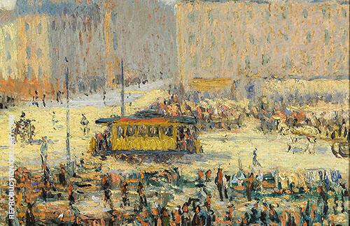 Place de L'Etoile By Gustave Loiseau