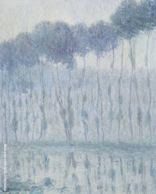Poplars on The Banks of The Eure 1903 By Gustave Loiseau