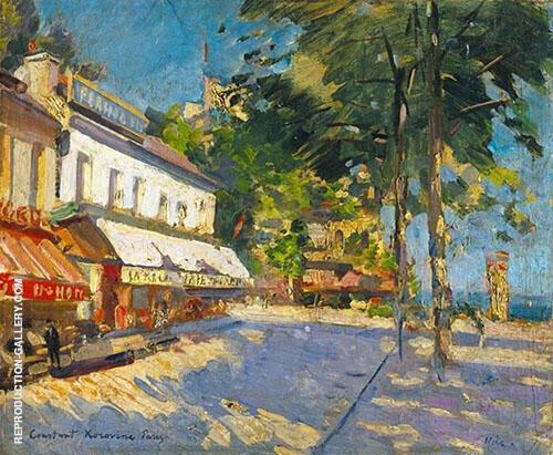 Street Scene Nice By Gustave Loiseau