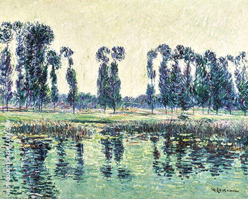 The Banks of The Eure 1901 Painting By Gustave Loiseau
