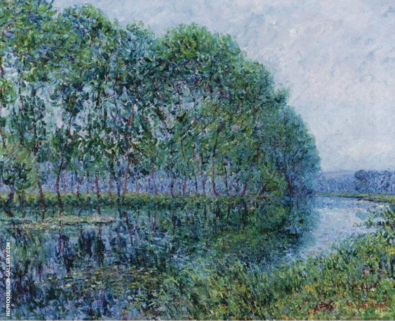 The Banks of The Seine 1900 By Gustave Loiseau