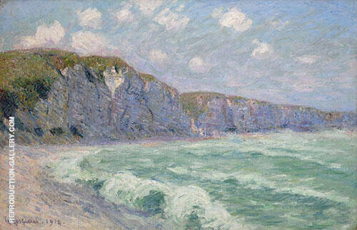 The Cliffs at FeCamp 1913 By Gustave Loiseau