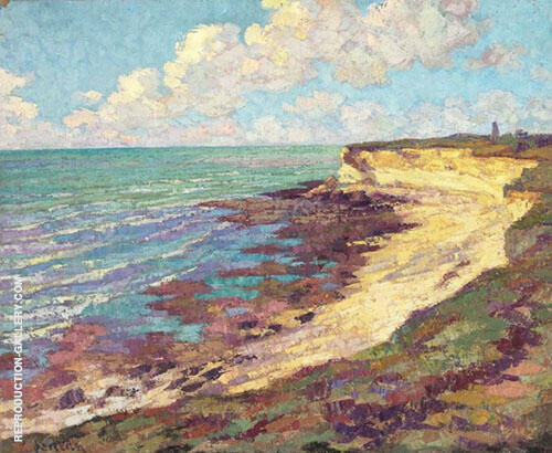 The Edge of The Sea Painting By Gustave Loiseau - Reproduction Gallery