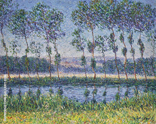 The Eure in Summer 1899 Painting By Gustave Loiseau - Reproduction Gallery