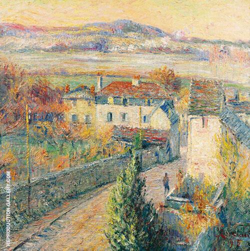 Triel sur Seine Painting By Gustave Loiseau - Reproduction Gallery