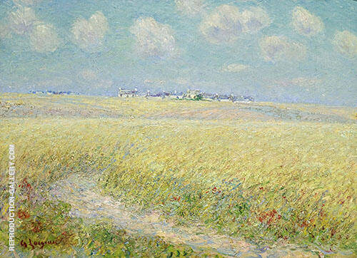 Wheatfields By Gustave Loiseau