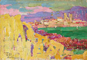 Antibes c1890 By John Peter Russell