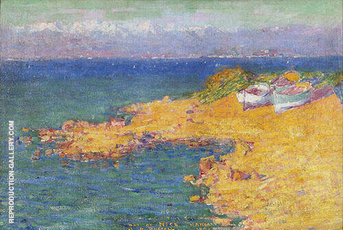 Bay of Nice 1891 By John Peter Russell