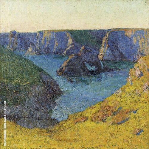 Belle Ile en mer 1898 By John Peter Russell