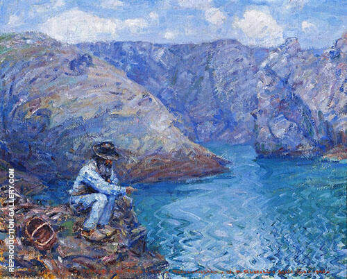 Fisherman 1905 By John Peter Russell
