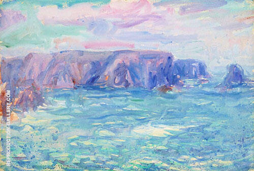 Landscape Study 1905 Painting By John Peter Russell - Reproduction Gallery