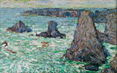 Les Aiguilles 1890 By John Peter Russell