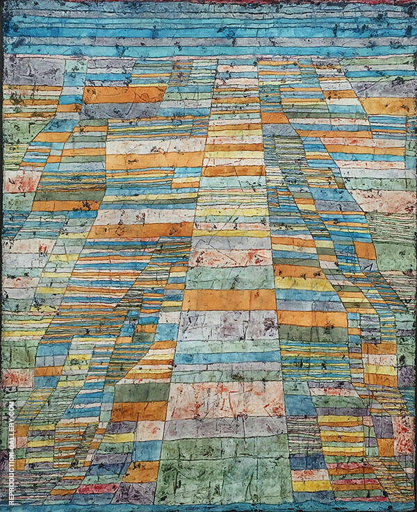 Highways and Byways 1929 By Paul Klee