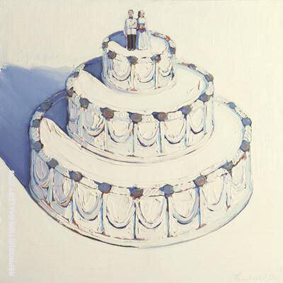 Wedding Cake 1962 By Wayne Thiebaud