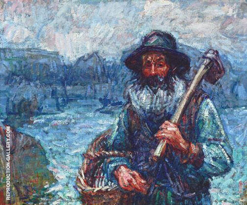 Mon ami Polite 1900 Painting By John Peter Russell - Reproduction Gallery