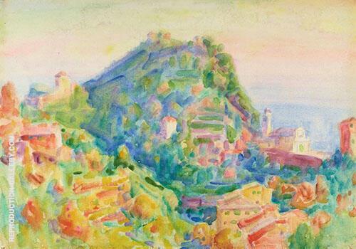 Portofino 1920 By John Peter Russell