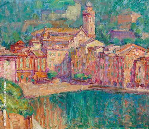Portofino II 1920 By John Peter Russell