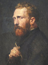 Vincent van Gogh 1886 By John Peter Russell