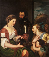 An Allegory of Marriage 1530 By Tiziano Vecellio (TITIAN)