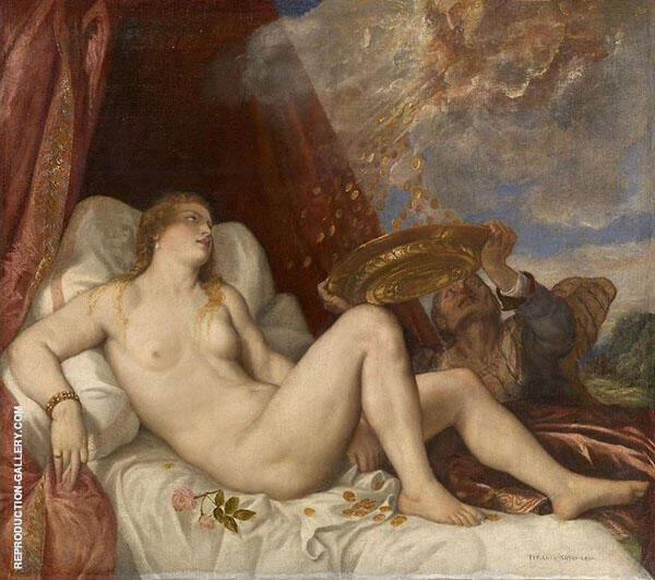Danae 1564 By Tiziano Vecellio (TITIAN)