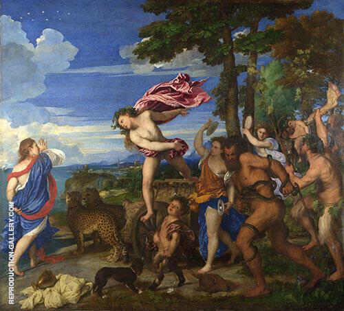 Bacchus and Ariadne 1520 By Tiziano Vecellio (TITIAN)