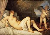 Danae 1544 By Tiziano Vecellio (TITIAN)