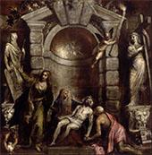Pieta 1576 By Tiziano Vecellio (TITIAN)