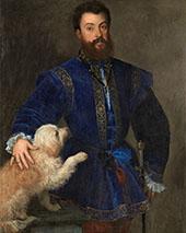 Portrait of Federico II Gonzaga 1529 By Tiziano Vecellio (TITIAN)