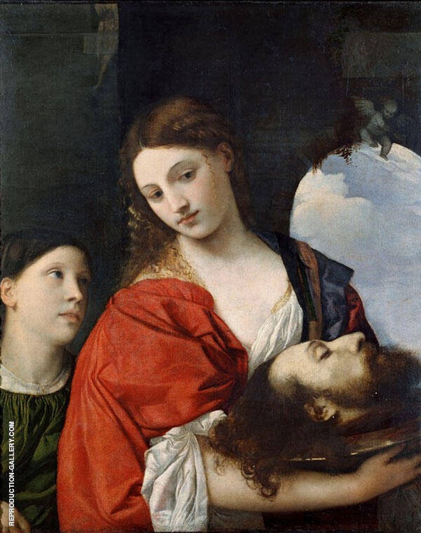 Salome with The Head of John The Baptist 1515 By Tiziano Vecellio (TITIAN)