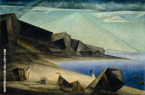 The High Shore 1923 By Lyonel Feininger