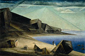 The High Shore 1923 By Lyonel Feininger