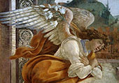 The Angel of the Annunciation 1481 By Sandro Botticelli