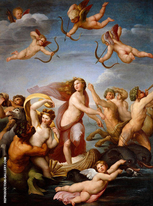 The Triumph of Galatea Painting By Raphael - Reproduction Gallery
