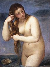 Venus Anadyomene 1520 By Tiziano Vecellio (TITIAN)