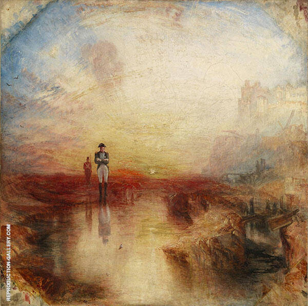 War, the Exile and the Rock Limpet 1842 Painting By ...
