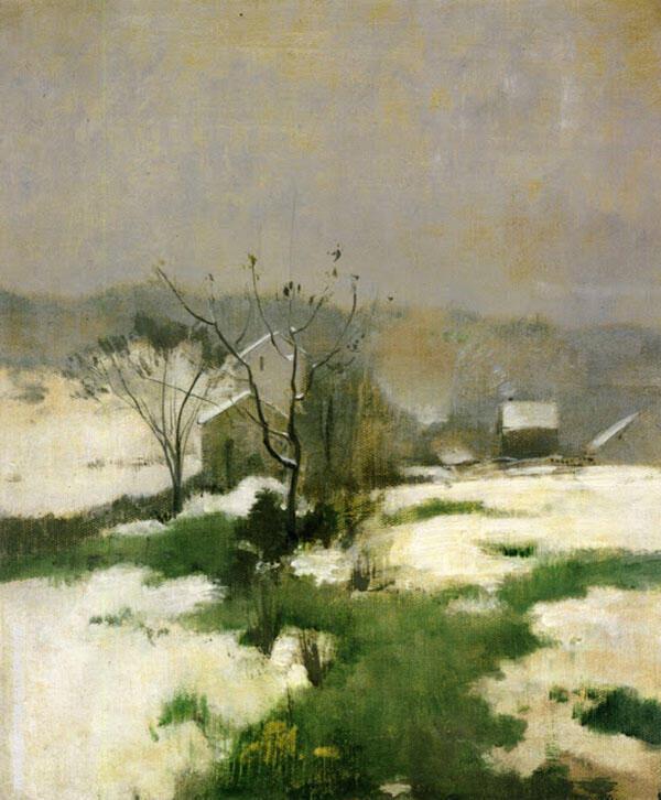 An Early Winter 1882 By John Henry Twachtman