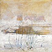 Bridge in Winter 1901 By John Henry Twachtman