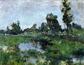 Connecticut Landscape 1895 By John Henry Twachtman