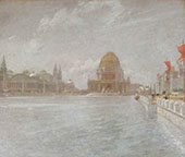Court of Honor, World's Columbian Exposition 1893 By John Henry Twachtman