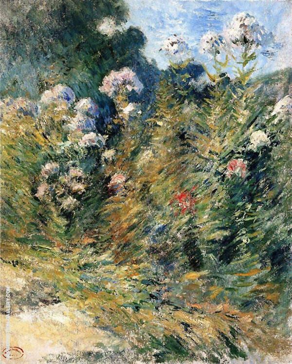 Flower Garden c1900 By John Henry Twachtman