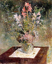 Still Life with Flowers c1900 By John Henry Twachtman