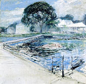 Harbor View Hotel 1902 By John Henry Twachtman