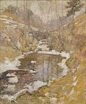 Hemlock Pool c1900 By John Henry Twachtman