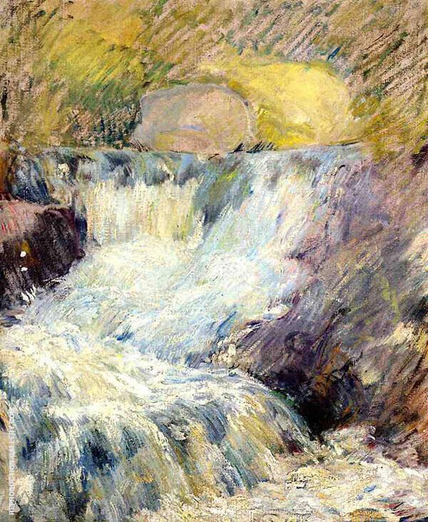 Horseneck Falls By John Henry Twachtman