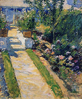 The Garden Path 1895 By John Henry Twachtman