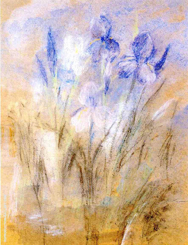 Irises By John Henry Twachtman