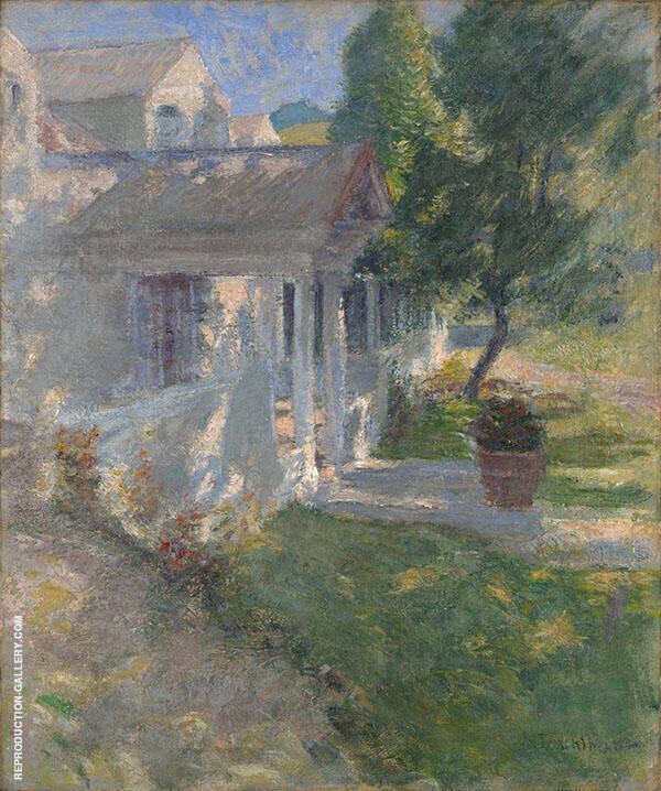 My House By John Henry Twachtman