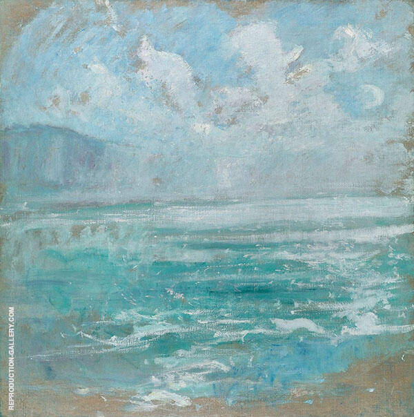 Niagra Gorge 1894 By John Henry Twachtman