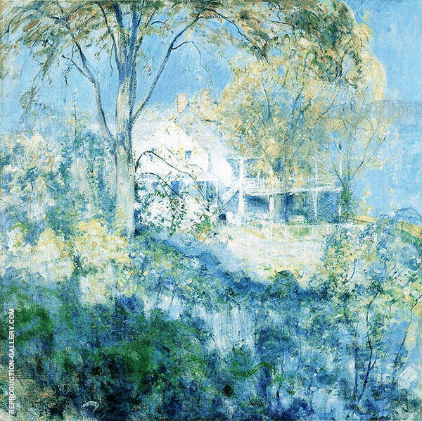 October 1901 by John Henry Twachtman   Oil Painting Reproduction Replica On Canvas - Reproduction Gallery