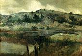 Paradise Rocks Newport 1889 By John Henry Twachtman